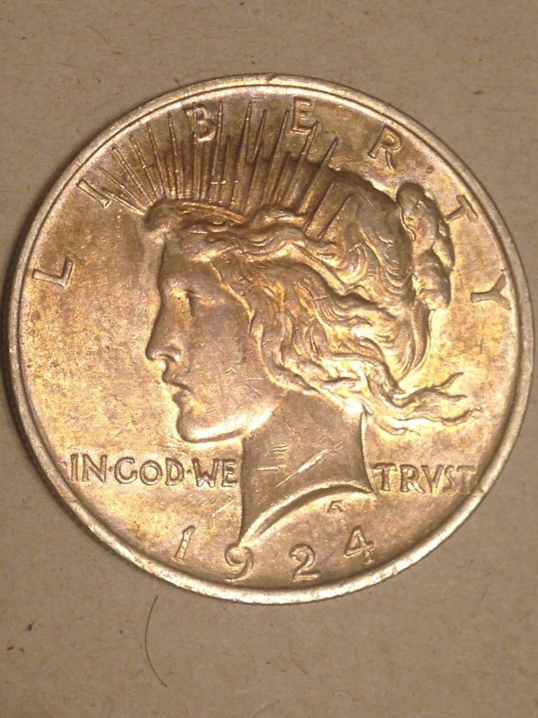 BU 90% Silver Peace Dollar 1920's from Estate