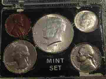 1964 Mint Set Brilliant Uncirculated NICE Set!