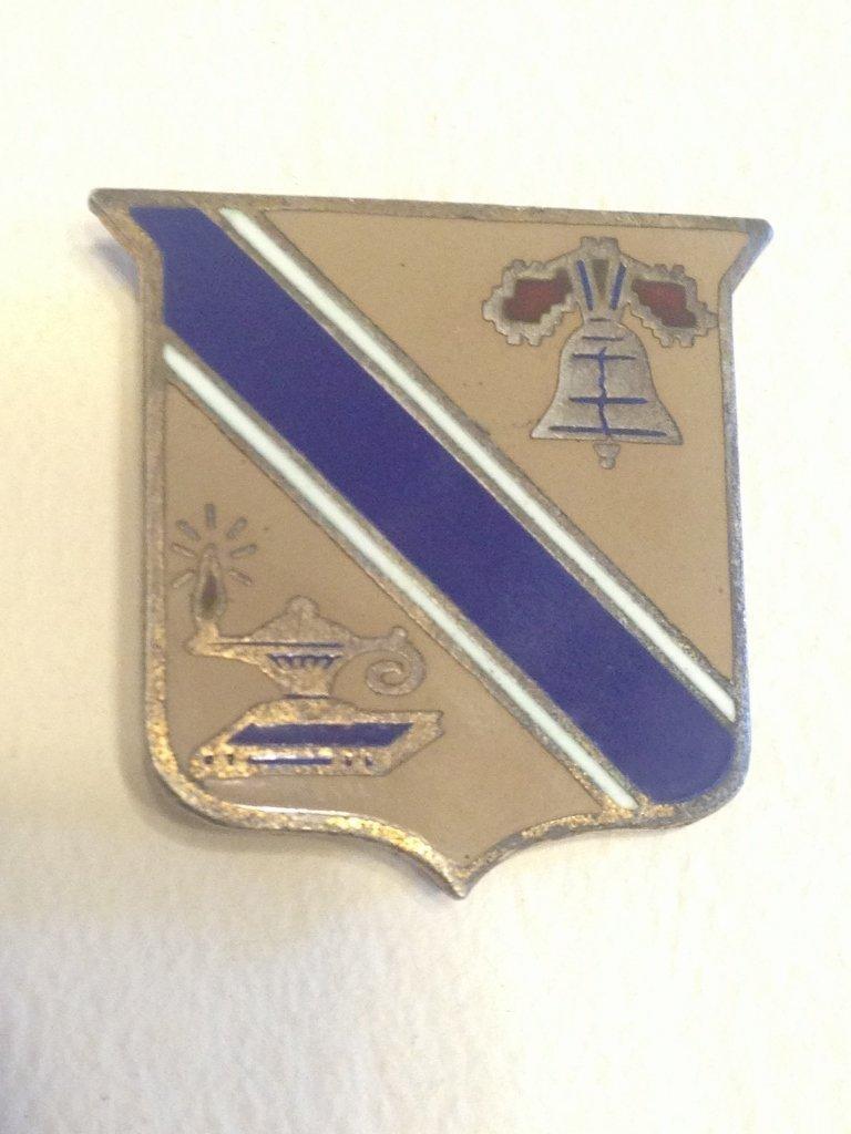 Sterling Silver U.S. WW2 Army Quartermaster Insignia