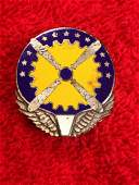 WW2 U.S. Army Air Corps Service Command Sterling Pin