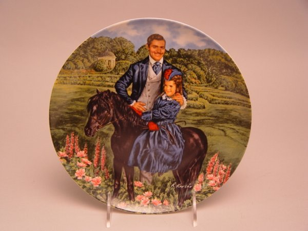 1020: Group of Gone With The Wind Collector Plates