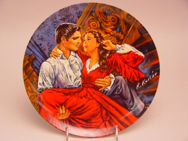 1021: Gone With the Wind Collector Plates