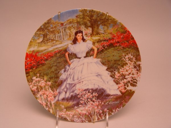 1022: Gone With the Wind Collector Plates
