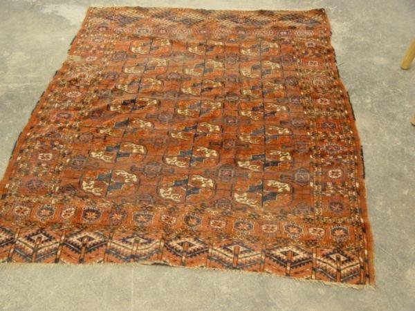 1030: Turkman Carpet 3' x 5'