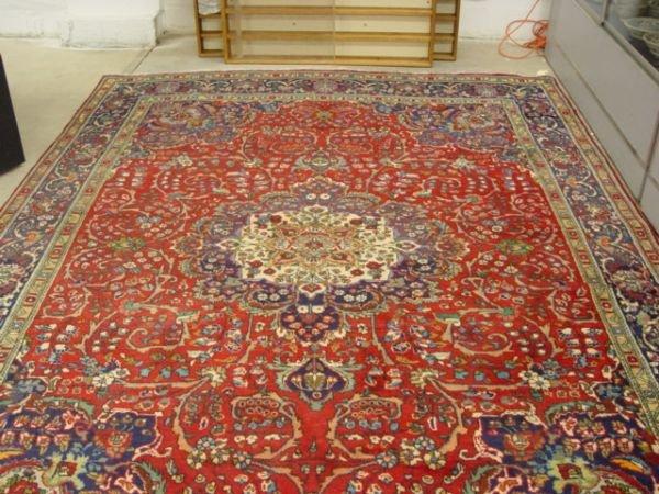 1033: Persian Bijar Carpet 8.3' x 11.3'