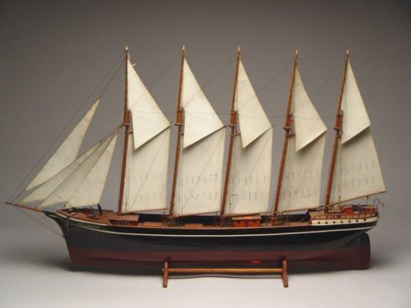 105: Five Masted Model Ship PG Harvest