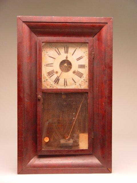 108: Early 19th c. American Ogee Clock