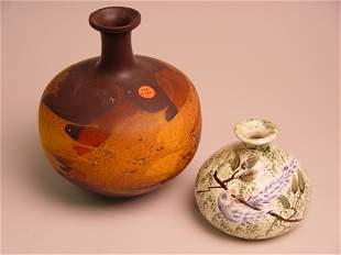 A Royal Haeger Earthwrap Vase