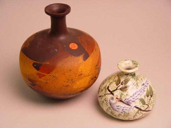 114: A Royal Haeger Earthwrap Vase