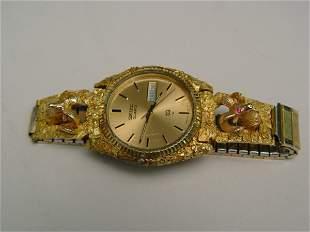 Gent's Seiko Ram's Head Wristwatch