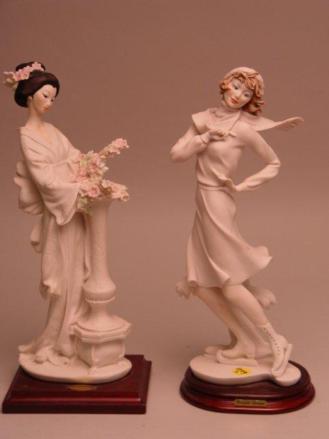 125: 2 Giuseppe Armani Figurines