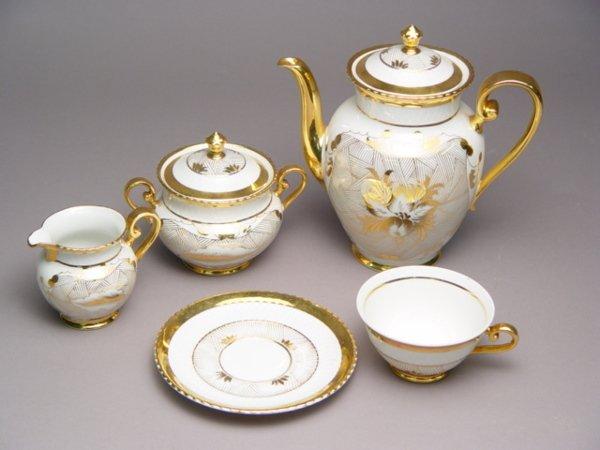 108: Bavarian Porcelain Tea Set