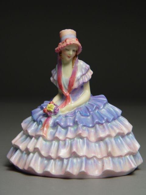 104: 2 Royal Doulton Figurines Chloe Janet