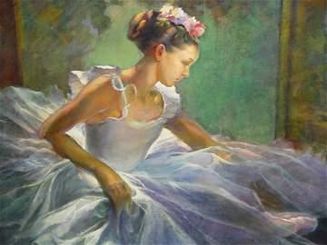 1106: Greta Kempton Ballerina Oil