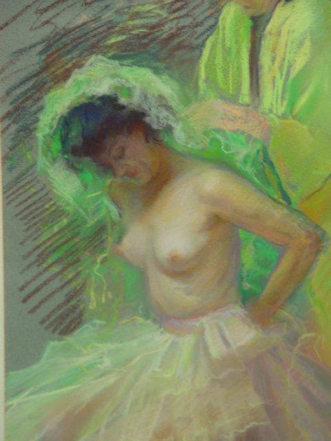 1109: Greta Kempton In The Dressing Room Pastel