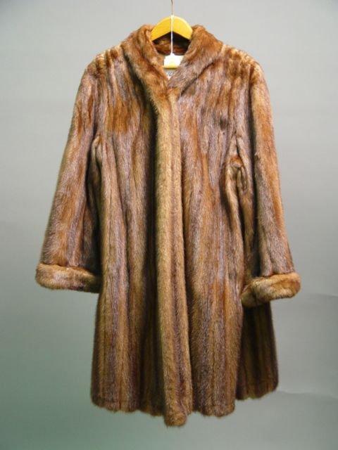 1030: Mink Coat 3/4 Length