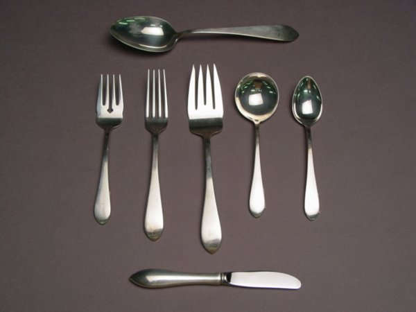 1001A: Dominick Haff Sterling Silver Flatware Set