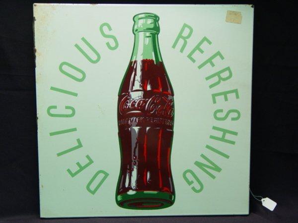 1000: Coca Cola Ad Sign Delicious Refreshing