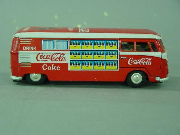 1001: 1950's Coca Cola Volkswagen VW Tin Van