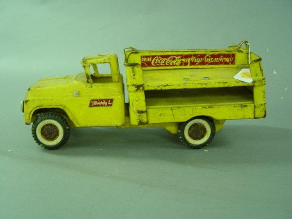 1003: 2 Buddy L Coca Cola Delivery Truck