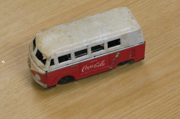1004: Endoh Coca Cola Volkswagen Friction Van