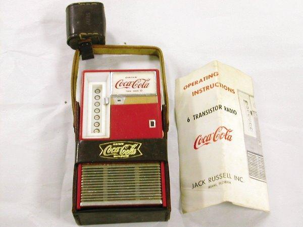 1005: Jack Russell Coca Cola Cooler Radio