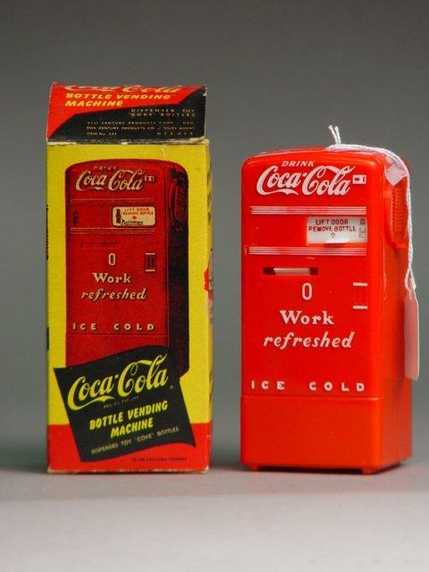 1016: Coca Cola Vending Machine Bank
