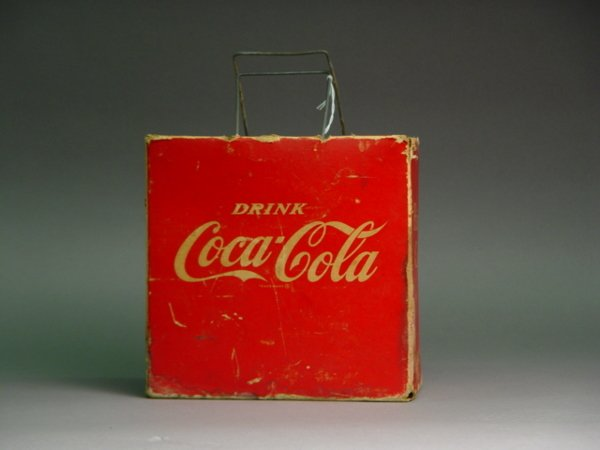 1023: Coca Cola Cardboard Picnic Cooler