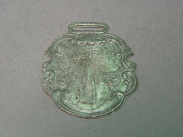 1224: Coca Cola Watch Fob 1908