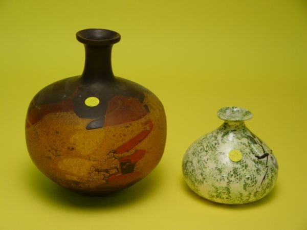 115: A Royal Haeger Earthwrap Vase