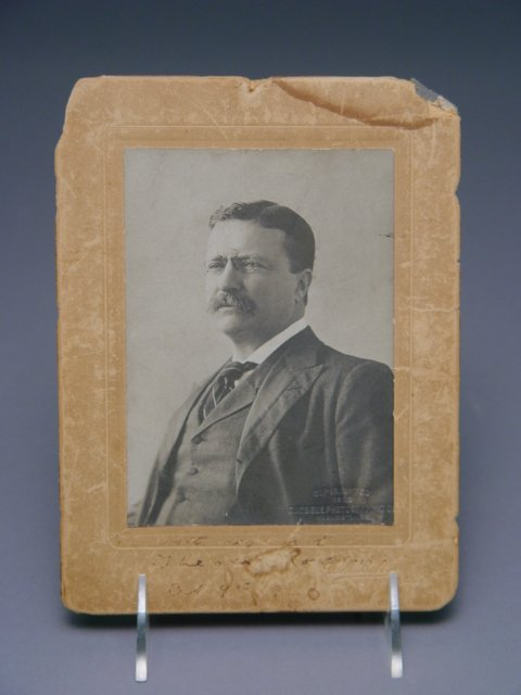 100: Theodore Roosevelt Signed Photograph