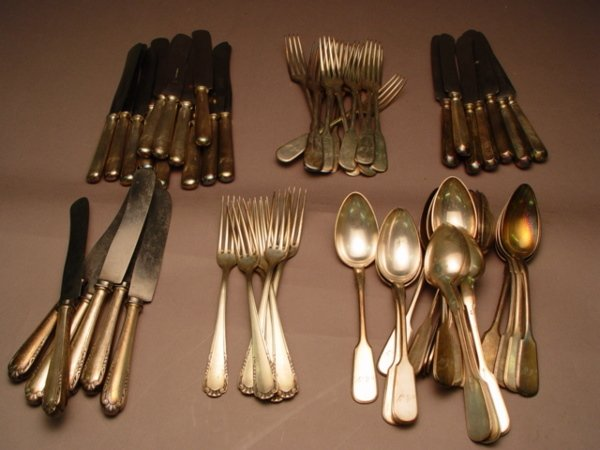 160: Group of Assorted Flatware