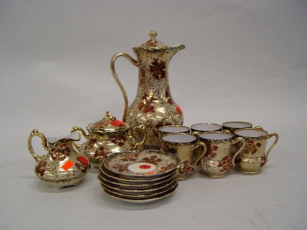 1: Nippon Porcelain Coffee Service,  having g