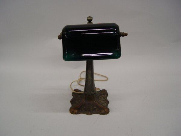 8: Miller Banker's Style Desk Lamp having whi