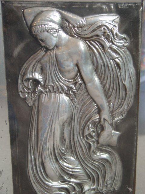 11: Contemporary Art Deco Relief Plaque depic