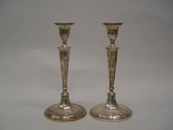 17: A Pair of Tiffany & Co. Sterling Silver C