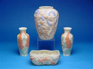"""""""4 Pieces Consolidated Phoenix Glass,tw"""
