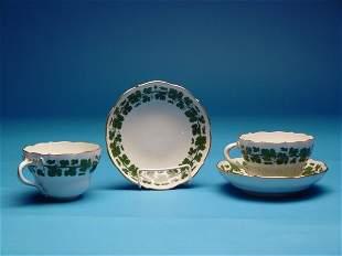 """""""Meissen Boullion Cup & Saucer Sets,Gre"""