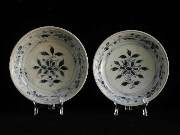 """2: """"Two Vietnamese Dishes 15th/16th Century,"""