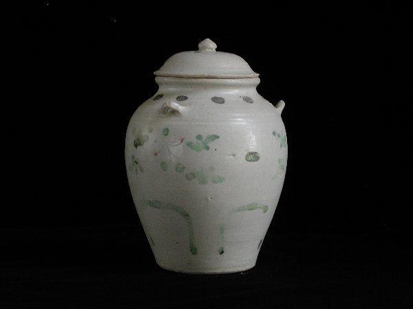 "6: ""Vietnamese Covered Jar 15th/16th Century;"