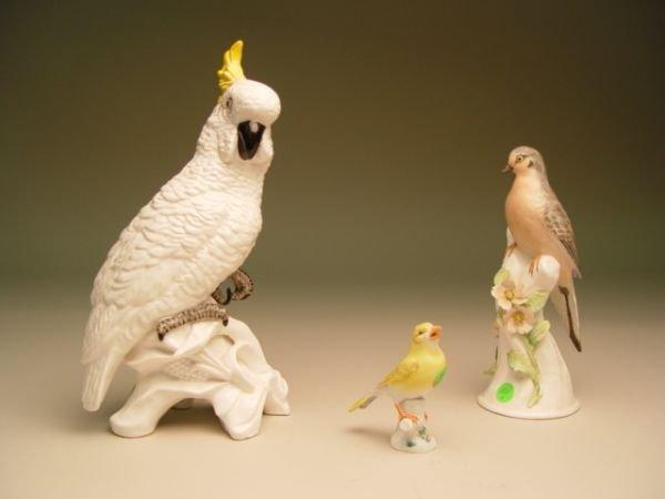 1101: Meissen Bird Figurine