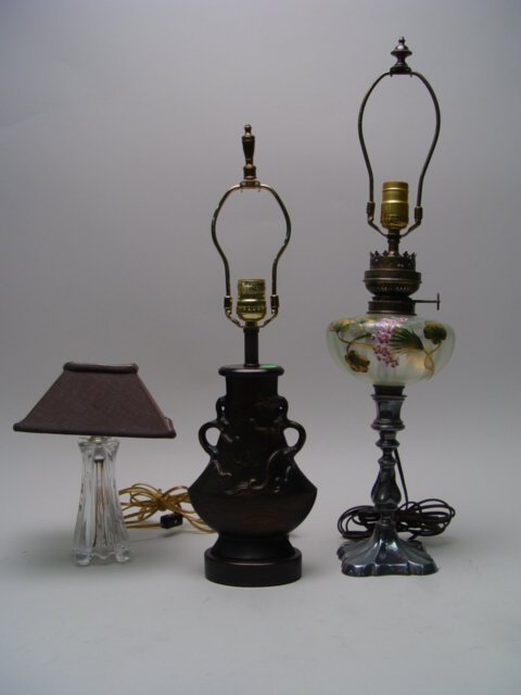 1110: Collection of 3 Table Lamps