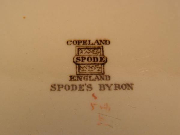 1115: Copeland Spode Byron Dinner Service - 5