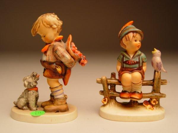 1117: Four Hummel Figurines