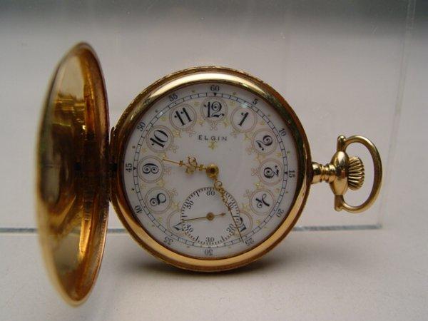 2000: 14k Yellow Gold Elgin Pocket Watch