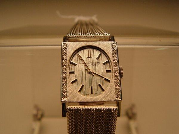 2002: Gent's Jules Jurgenson Wristwatch