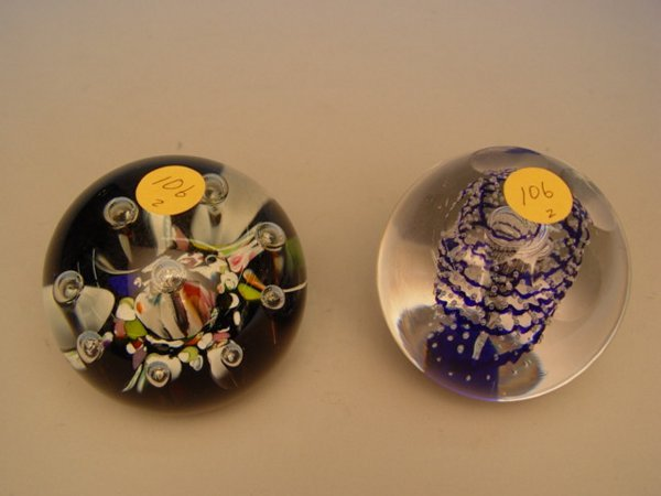 106: Caithness Harlequin Paperweight
