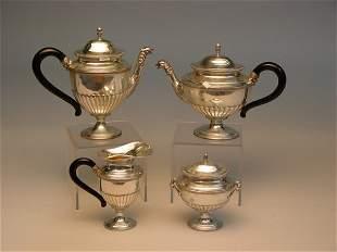 Italian Silver Tea & Coffee Set, Bellini