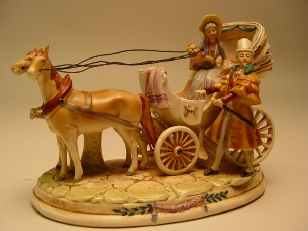 1031: German Porcelain Figural Group
