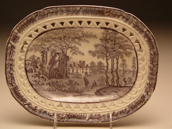 1008: Staffordshire Davenport Tray & Table Articles